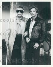 1983 Actor George Peppard Dirk Benedict in TV Show The A Team Press Photo