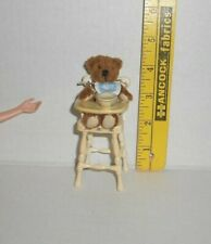 MATTEL Barbie KELLY DOLL STUFFED BEAR AND BABY HIGH CHAIR SET NEW FROM BOX