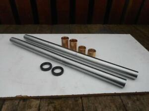 BSA Fork Stanchion Tubes Bushes Seal Kit Goldstar DBD A10 RGS HardChromed UkMade