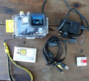 Sony Cybershot DSC-T20 Camera with Marine Pack Underwater Housing 40mt/132ft