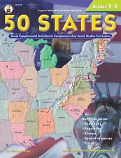 50 States, Grades 3 - 5 : Great Supplemental Activities to Complement Any Social