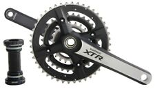 NOS Shimano XTR FC-M970 Triple Crankset 44/32/22 Gear Ratio w/ BB 175mm Arms