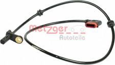 Sensor, Raddrehzahl für Bremsanlage Hinterachse METZGER 0900215