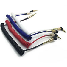 3.5mm L-Shaped Male to Male Aux Cable Cord For Audio Headphone Jack Top Quality