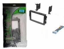 Chrysler Dodge Jeep Double Din Dash Kit for Radio Stereo Install Wire Harness