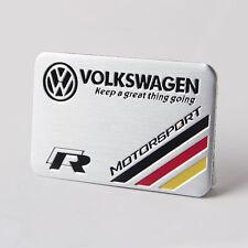 Emblema VW Volkswagen R line (golf,polo,passat,eos,tiguan,touareg,touran) badge