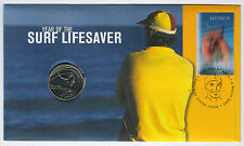 2007 Year of the Surf Lifesaver PNC with 20 cent coin