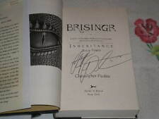 BRISINGR (DELUXE EDITION) by CHRISTOPHER PAOLINI  **SIGNED**