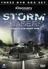 Storm Chasers (DVD, 2009, 3-Disc Set) BRAND NEW & FACTORY SEALED FEE UK P&P!!