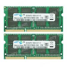 Samsung 16GB 2X8GB PC3-10600S DDR3-1333MHZ 1.5V 204pin SO-DIMM Laptop Memory Ram