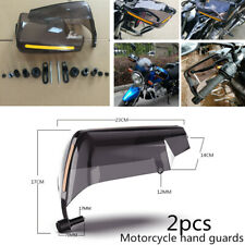 2xATV Motorcycle Bike Handle Bar Hand Guard Protector Cool Wind Deflector Shield