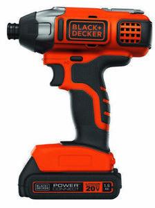 Black + Decker 20V Max Impact Driver