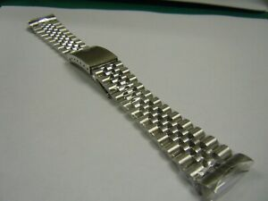 Jubilee Bracelet Stainless Steel for Rolex Datejust 1600,1601,1603,1625,16000