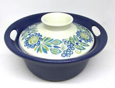 Figgjo Norway Flameware Pottery Covered Casserole  TURI GRAMSTAD OLIVER