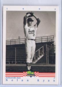 Nolan Ryan 1992 Classic Best Minors Jacksonville Suns #1