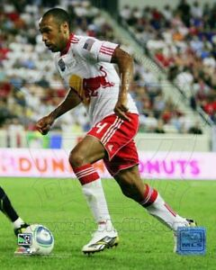 "Thierry Henry New York Red Bulls MLS Game Action Photo (Size: 8"" x 10"")"