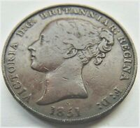 1851 Jersey Victoria, Young Hd 1/13 Shilling, Grading Abt VERY FINE / VERY FINE.
