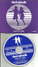 Quicksand RIVAL SCHOOLS Used for glue 2 UNRELEASED & VIDEO CD single USA seller