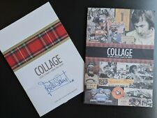 SIGNED Jackie Stewart Formula 1 Grand Prix Genesis Publications Collage Book fly