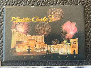 "Vintage Fridge Magnet ""Monte Carlo"" Las Vegas Hotel & Casino"