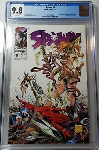 🔥Spawn #9, 🗝️ Key Issue, first appearance of Angela. 📈🔥