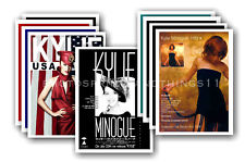 KYLIE MINOGUE - 10 promotional posters  collectable postcard set # 5