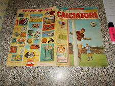 ALBUM CALCIATORI MIRA 1968 1969 VUOTO BUONO + CEDOLA TIPO PANINI RELI LAMPO EDIS