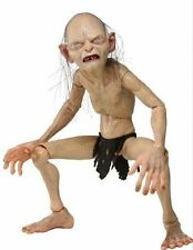 """NECA The Lord of the Rings Smeago Hobbit Gollum  1/4 Scale 10"""" Model Toy"""