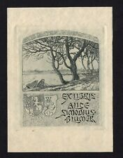 30)Nr.148- EXLIBRIS- Emil Anner, 1913