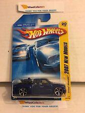 Chevy Silverado #20 * BLUE * 2007 Hot Wheels * W55