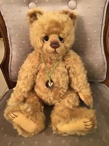 Charlie Bears Pudgy 2017 Isabelle Mohair Collection FREE US SHIP