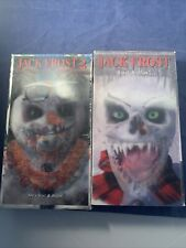 Rare Horror VHS Jack Frost/ II Holographic Covers Blockbuster Stickers