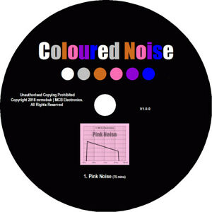 Pink Noise Test Tones CD - Relaxation Meditation Background Block Out Tinitus