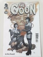 THE GOON #20 (2008) DARK HORSE COMICS AUTOGRAPHED by ERIC POWELL with COA! NM