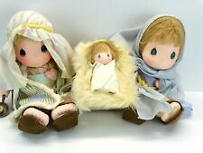 """Adorable Applause Precious Moments Silent Night Nativity 15"""" Dolls 21028"""