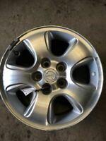 Rim Wheel 16x7 5 Spoke Alloy Silver Inlays Fits 01-04 MAZDA TRIBUTE 146570