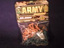 "Toy Soldiers Ja-Ru Army Command Plastic 2"" Toy Military Men NIP 25 PCS       E29"