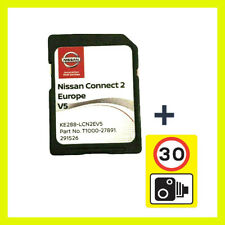 2021 V5 NISSAN CONNECT 2 SD CARD EUROPE MAPS LCN2 SAT NAV + SPEED CAMERA