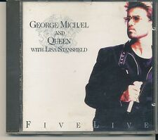 George Michael & Queen - Five Live  (AUDIO CD) MADE IN HOLLAND  [bb]