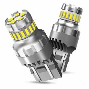 AUXITO 7443 LED Bulbs Turn Signal Backup Reverse Light Lamp 7440 7441 White HCN