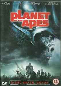 El Planeta de los Simios, 12 , DVD, 2 Disco, 2001 , James Franco, John Lithgow
