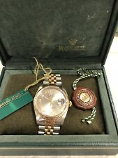 Rolex Two tone Datejust 16233 Two Tone Jubilee 36MM PreOwned . Certified