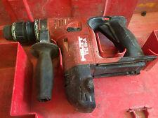 Travail HILTI 36 V TE 6 A SDS sans fil marteau perforateur avec boite sans batterie sans chargeur