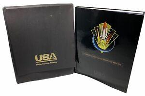 UNITED SPACE ALLIANCE Commemorative BOOK Three Decades of Human Spaceflight NASA
