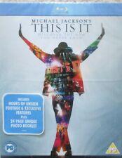 Michael Jackson THIS IS IT - BluRay - ink. 20 seitig Foto - Booklet  NEU (#2459)