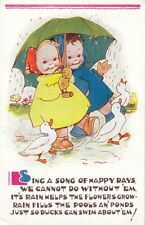 CHILDREN :Sing a song of happy days .....-MABEL LUCY ATTWELL-VALENTINE'S