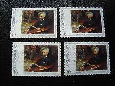 LUXEMBOURG - timbre yvert et tellier n° 1346 x4 obl (A30) stamp
