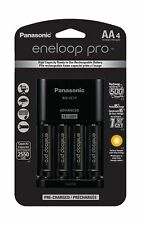Panasonic K-KJ17KHCA4A Advanced Individual Cell Battery Charger Pack with 4 A...