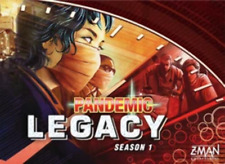 Pandemic Legacy Season 1 RED