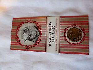 2011 $1 australian coins - Unc Ram's Head Mint Mark A